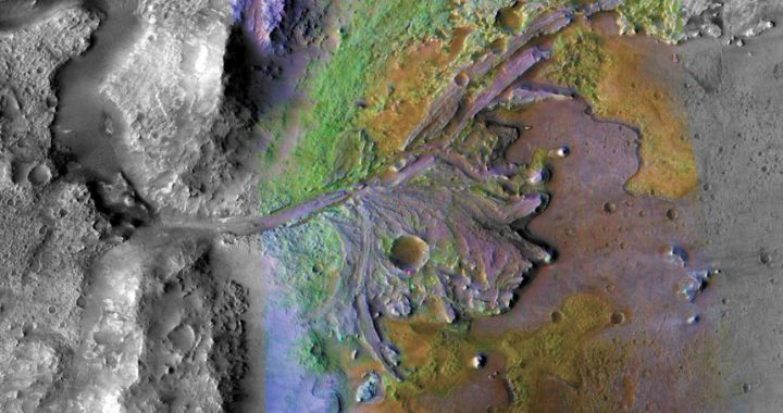 NASA's Mars 2020 rover will look for ancient life in a former river delta