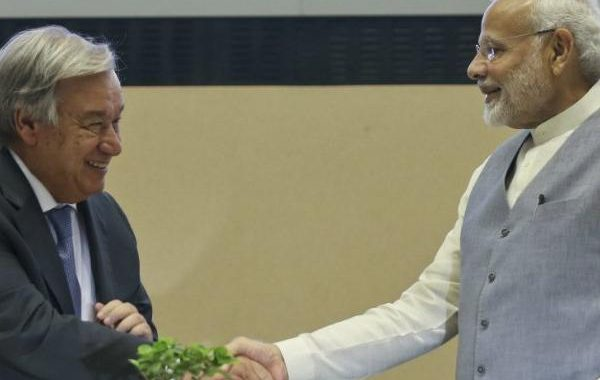 PM Narendra Modi, UN chief Antonio Guterres discuss issues related to global peace