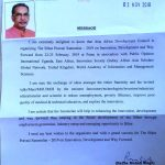 ENDORSEMENT LETTER MINISTRY OF AGRICULTURE, GOVT OF INDIA